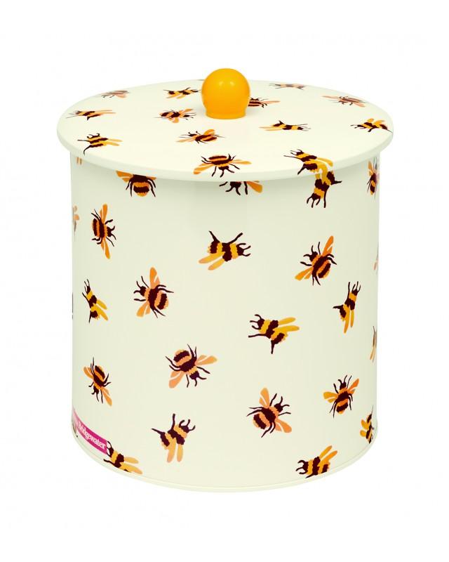 Bee biscuit barrel tin